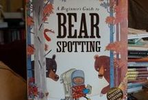 A Beginners Guide to Bear Spotting - by Michelle Robinson & David Roberts / Out 11th February 2016. David Roberts (illustrator), is represented by Artist Partners of London. Michelle Robinson (author) is represented by James Catchpole. Bloomsbury (UK).