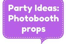 Party ideas - photobooth props