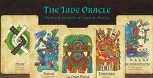 The Jade Oracle / The Jade Oracle is a divination card set based on Ancient Mexican deities and symbols.