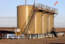 Oil Field / 400BBL Tanks and Secondary Containment from Innovative Fabricators.