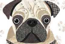 pugs...pugs....pugs.... / Pug love -no photos- just art!! / by Andrea😎