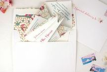 Baby Shower Invitations & Stationery / Beautiful and whimsical ways to welcome new baby into the world!