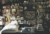 On My Bookshelf / My walks, that autumn, were all the more delightful because I used to take them after long hours spent over a book. - Proust / by Rebecca Moore