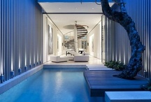 Interesting interiors / We love interesting homes and the interior is a way of embellishing the architects design. See some that have inspired us.