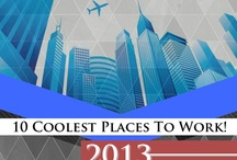 Top 10 Places To work! / The best places to work! Top amazing Architecture working environments that inspire and excite us.