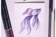 APFMHead Draws / Aquí podéis encontrar mis dibujos, hechos a mano, a ordenador, con acuarela lápiz, carboncillo...