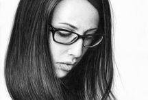 Portraits / Graphite pencil on paper portraits
