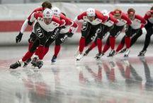Schaatsen / Kia sponsort het schaatsen met het opzetten van de Kia Speed Skating Academy. Een topsportfacilitatie in het Duitse Inzell dat sporters buiten Nederland opleidt tot topschaatsers. Dit alles onder leiding van Jeremy Wotherspoon en Jan Bos. / by Kia Motors Nederland