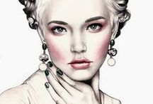 Ilustraciones / by Fabiola Ramos