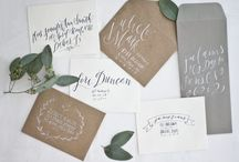 * Wedding Stationary * / Wedding Stationary