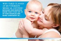 Childbirth Education / The event of a lifetime takes a lot of preparation. At Hunterdon Medical Center, we are a family focused hospital, and we share your excitement, your concern and your need for information. http://hunterdonhealthcare.org/maternity