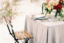 * Beach garden wedding *