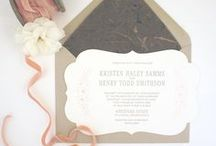 Die Cut Paper Wedding & Event Stationery / Die cut wedding and event invitations and stationery details for special celebrations including escort cards, wedding dinner menus and invitations.