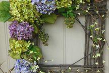 DIY Wreaths & Front Door Art / Wreaths & Front Door Art / by Susan Abe