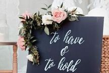 To Have And To Hold / Unique and trendy wedding ideas
