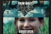 Hunger games / Let the Hunger Games begin...