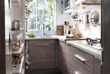 Small Kitchen Decor / Small Kitchen Decor: Smart Tips And Examples