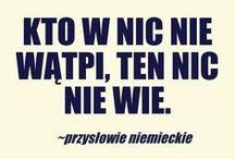 Przysłowia / Przysłowia mądrością narodu