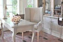 Refined Feminine Home Office Decor Ideas / Refined Feminine Home Office Decor Ideas