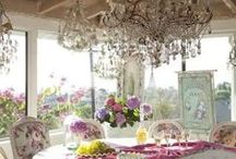 Feminine Dining Rooms And Zones / Cute Feminine Dining Rooms And Zones