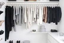 Stylish Minimalist Closets / Striking And Stylish Minimalist Closets