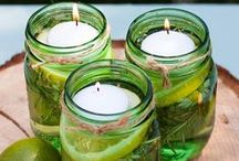 DIY Citronella Candles / DIY Citronella Candles To Keep The Insects Away