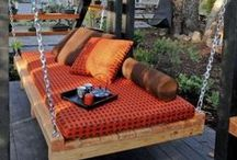 Outdoor Hanging Beds / Think Relaxation: Outdoor Hanging Beds