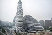 World's stunning architectural achievements / Modern, futuristic, high-tech buildings around the world