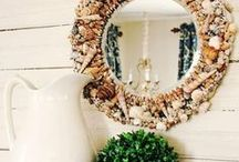 Sea Shell DIYs / Sea Shell DIYs For Indoor And Outdoor Decor