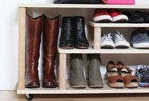 DIY Shoe Rack, Organizers And Shelves / Creative And Practical DIY Shoe Rack, Organizers And Shelves