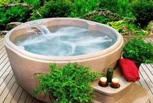 Relaxing And Dreamy Outdoor Hot Tubs / Relaxing And Dreamy Outdoor Hot Tubs