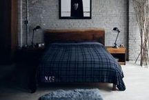 Masculine Bedroom Design Ideas / Stylish Masculine Bedroom Design Ideas