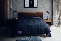 Masculine Bedroom Design Ideas / Stylish Masculine Bedroom Design Ideas