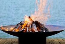 Striking Outdoor Fire Bowls / Creating An Atmosphere: Striking Outdoor Fire Bowls