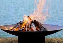 Striking Outdoor Fire Bowls / Creating An Atmosphere: Striking Outdoor Fire Bowls
