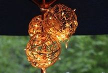 DIY Lamps And Lights For Outdoors / DIY Lamps And Lights For Outdoors