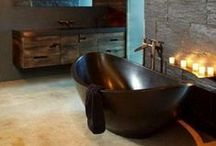 Masculine Bathroom Design / Stylish Masculine Bathroom Design Ideas