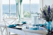 Beach Dining Spaces / Indoor And Outdoor Beach Dining Spaces