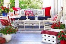 Summer Porch Decor Ideas / Vivacious Summer Porch Decor Ideas
