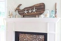 Beach Mantle Decor Ideas / Beautiful Beach Mantle Decor Ideas