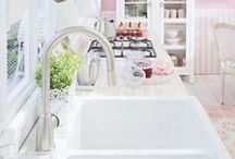 Feminine Kitchen Design Ideas / Cute Feminine Kitchen Design Ideas