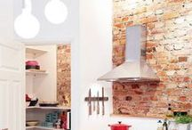 Kitchens With A Brick Wall / Stylish Kitchens With A Brick Wall