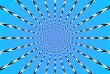 OP ART♫ ♪ ♥●•٠·˙ ☯ / Op art, ou art optique, est une expression utilisée pour décrire certaines pratiques et recherches artistiques faites à partir des années 1960, et qui exploitent la faillibilité de l'œil à travers des illusions ou des jeux optiques