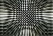 Illusions matching geometric texture♫ ♪ ♥●•٠·˙ ☯