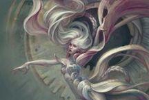 Devianart:women♫ ♪ ♥●•٠·˙ ☯ / Digital Fantasy