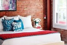 Bedroom Designs With A Brick Wall / Chic Bedroom Designs With A Brick Wall