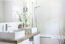 Serene Scandinavian Bathroom / Serene Scandinavian Bathroom Designs