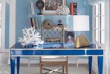 Coastal Home Offices / Inspiring Coastal And Beach-Inspired Home Offices