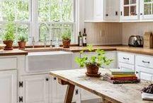 Farmhouse Kitchen Designs / Cute Farmhouse Kitchen Designs To Get Inspired