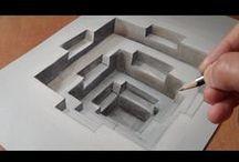 ART Illusions:Trick Art♫ ♪ ♥●•٠·˙ ☯